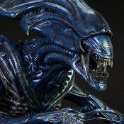 Alien Queen Deluxe Alien VS Predator Bust
