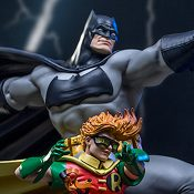 Batman and Robin Deluxe DC Comics Statue