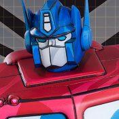 Optimus Prime Transformers Statue