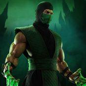 Reptile Mortal Kombat Statue
