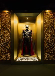 Thors Suit Avengers Marvel Station London